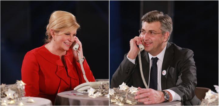 Kolinda Grabar-Kitarović, Andrej Plenković, Želim život