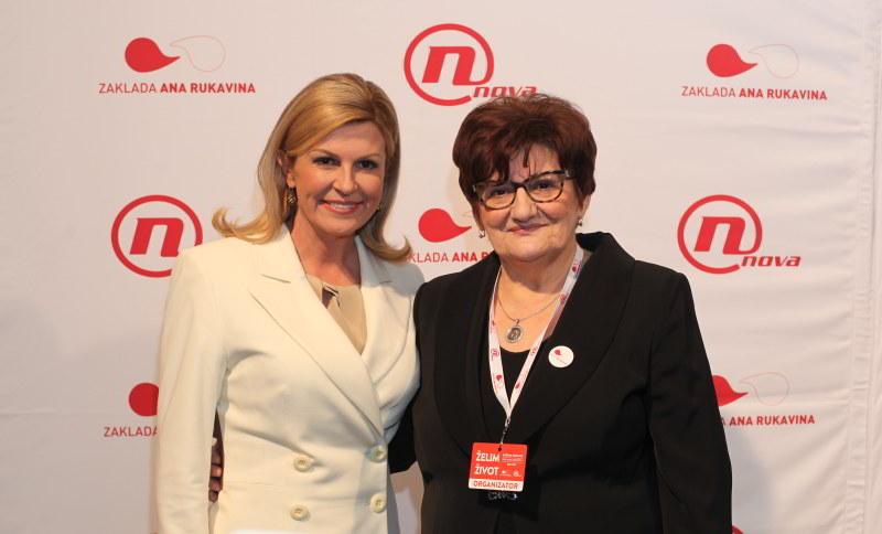 Kolinda Grabar Kitarović, Marija Rukavina