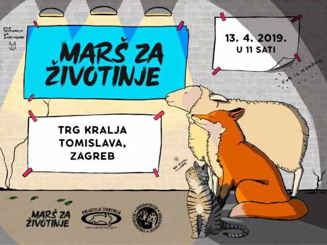Marš za životinje