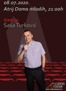 Stand up – Saša Turković: Ljeto u Ludensu